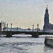 Stockholm 9 Art Print