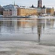 Stockholm Winter Art Print