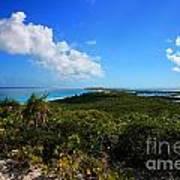 Stocking Island Exuma Bahamas Art Print