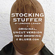 Stocking Stuffer  Uncut Art Print by Lorenzo Laiken