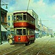 Stockport Tram. Art Print