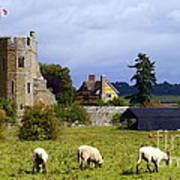 Stokesay Castle Art Print