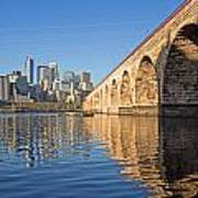 Stone Arch By Day Art Print