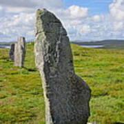 Stone At Callanish IIi Art Print