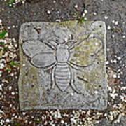 Stone Bee In Jim Thorpe Pa Art Print