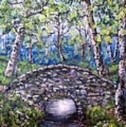 Stone Bridge 2 Art Print