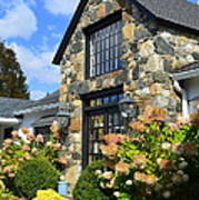 Stone Building In Connecticut Art Print