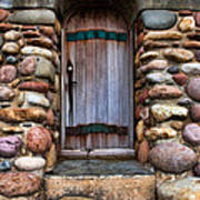 Stone Door Art Print