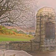 Stone Gate Art Print