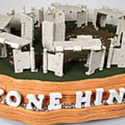 Stone Hinge.. .stonehenge   Art Print