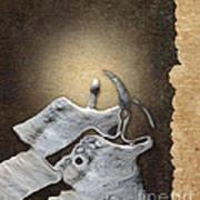 Stone Men 29 - Love Rythm Art Print