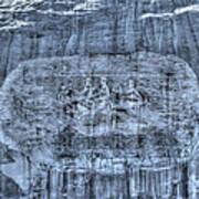 Stone Mountain - 1 Art Print