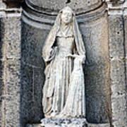 Stone Nun Art Print