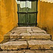 Stone Stair Entranceway  Art Print