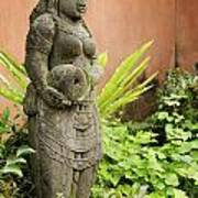 Stone Statue In Bali Indonesia  Art Print