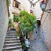 Stone Streets Of Old Trogir Art Print
