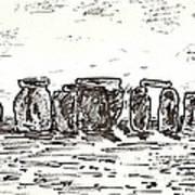 Stonehenge Art Print by Anthony Fox