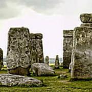 Stonehenge Panorama Art Print