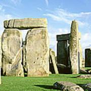 Stonehenge, Wiltshire, England, United Art Print