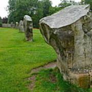 Stones At Avebury Art Print