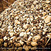 Stones Art Print by BandC  Photography