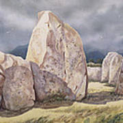 Stones Of Castlerigg Art Print