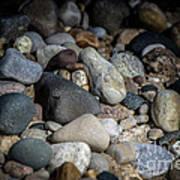 Stones On Beach Art Print