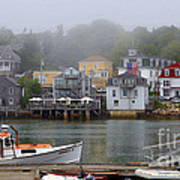 Stonington Harbor 2 Art Print