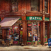 Store - Albany Ny -  The Bayou Art Print by Mike Savad