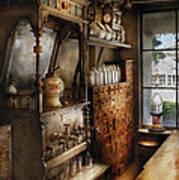 Store - Turn Of The Century Soda Fountain Art Print