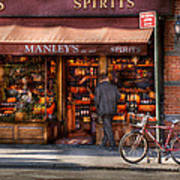 Store - Wine - Ny - Chelsea - Wines And Spirits Est 1934  Art Print by Mike Savad