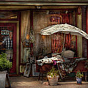 Storefront - Frenchtown Nj - The Boutique Art Print