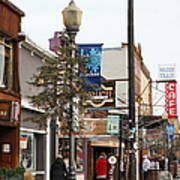 Storefront Shops In Truckee California 5d27489 Art Print by Wingsdomain Art and Photography
