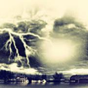 Storm And Flood Art Print