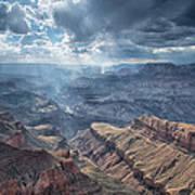 Storm At The Canyon Art Print