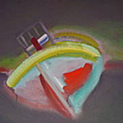 Storm Beach Art Print