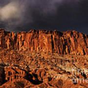 Storm Clouds Capitol Reef National Park Utah Art Print