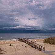 Storm Clouds On The Outer Banks Art Print