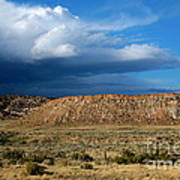 Storm Clouds Over Central Wyoming Art Print