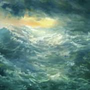 Storm Is Coming Art Print