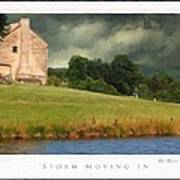 Storm Moving In Art Print