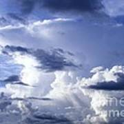 Storm Of Namibia Art Print