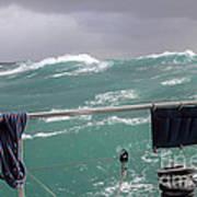 Storm On Tasman Sea Art Print