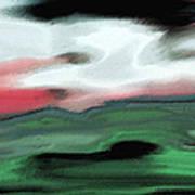 Storm On The American Landscape Art Print