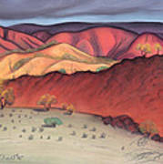 Storm Outback Australia Print by Judith Chantler