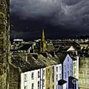 Storm Over Conwy Art Print