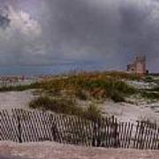 Storm Over Gulf Shores  Art Print