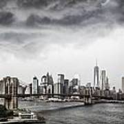 Storm Over Manhattan Art Print