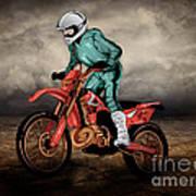 Storm Rider V1 Art Print