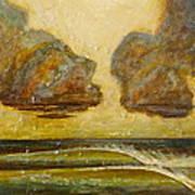 Storm Waves Art Print